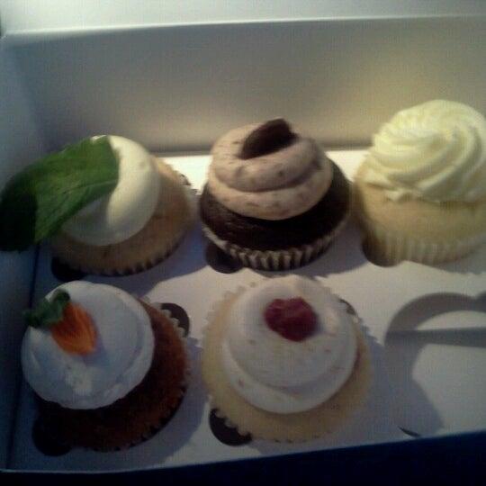 Photo taken at Sift Cupcake & Dessert Bar by gina m. on 8/5/2012