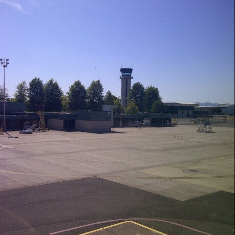 Photo taken at Eugene Airport (EUG) by Myriam A. on 9/2/2012