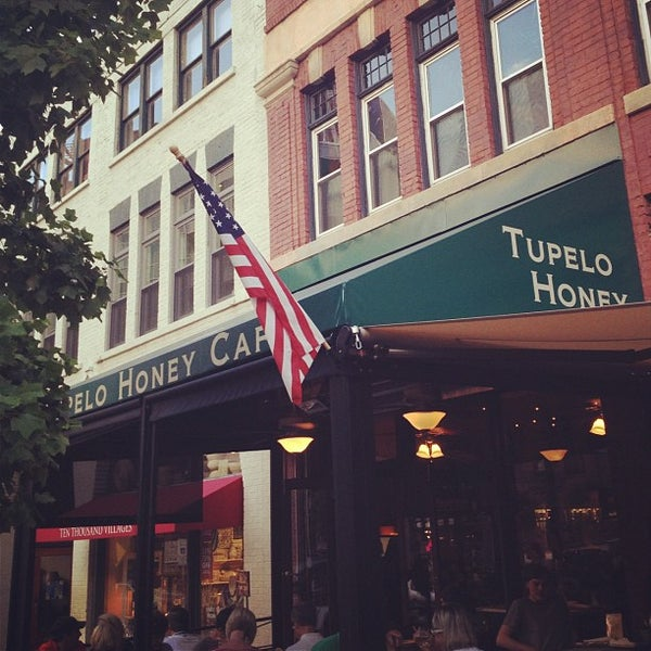 Photo taken at Tupelo Honey Cafe by Jamie P. on 8/10/2012