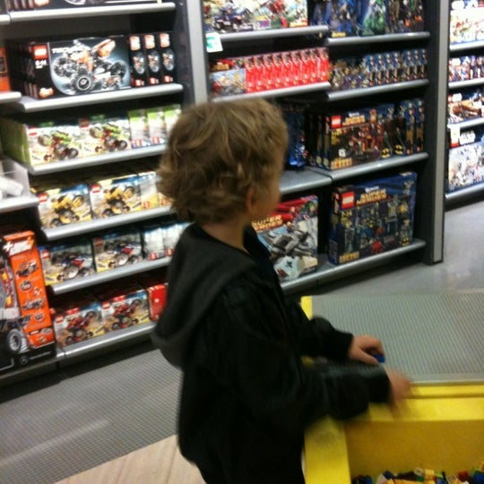 Photo taken at The LEGO Store by Craig L. on 4/17/2012