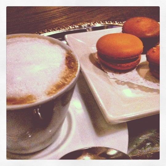 Photo taken at La Maison du Macaron by Cindy B. on 4/16/2012