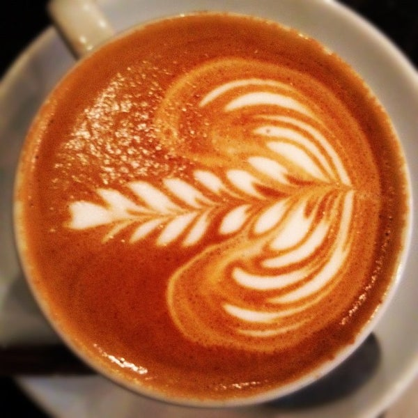 Photo taken at Flat White by Chris H. on 5/3/2012