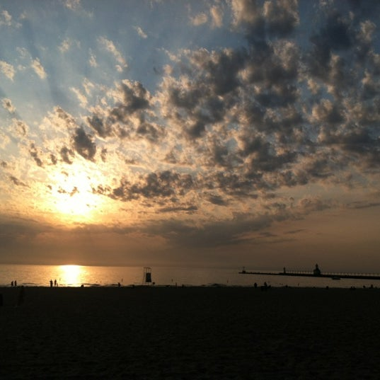 Photo taken at Silver Beach by Alicia B. on 6/30/2012