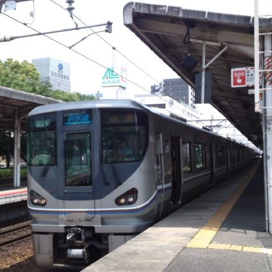 Photo taken at Ōtsu Station by Crystal C. on 5/19/2012
