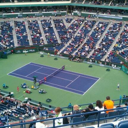 Photo taken at Indian Wells Tennis Garden by John T. on 3/18/2012