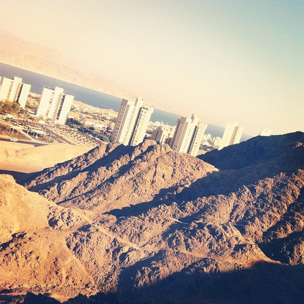 Photo taken at Eilat Mountains by Kostya B. on 6/7/2012