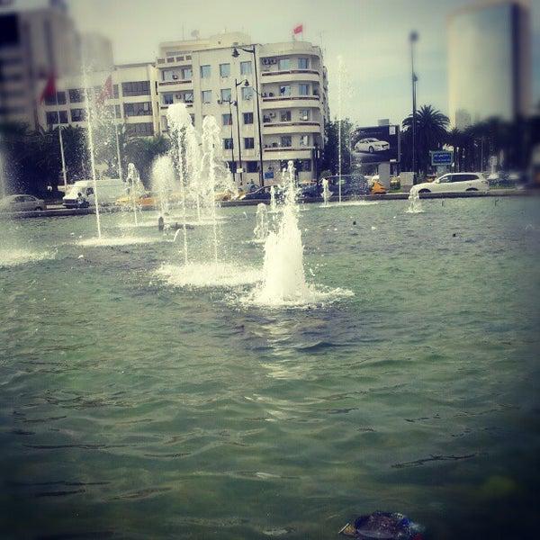 Photo taken at Avenue Habib Bourguiba I شارع الحبيب بورقيبة by Charfeddine R. on 6/12/2012