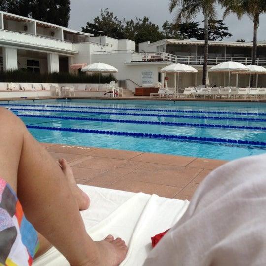 Coral Casino Pool In Santa Barbara