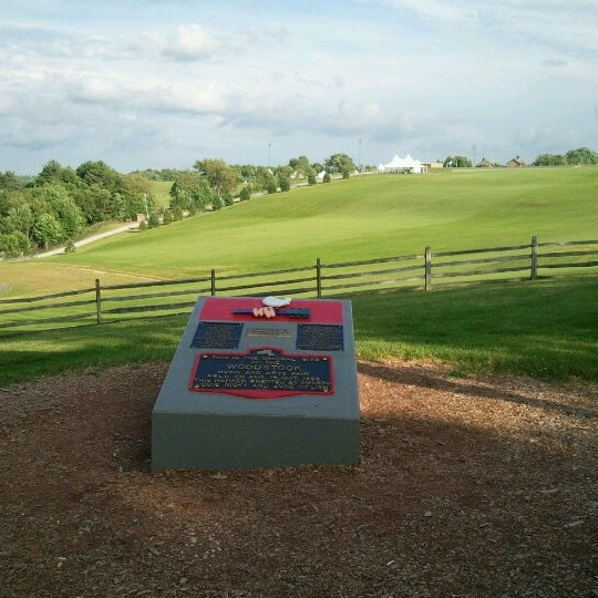 Photo taken at Woodstock Festival Concert Site/Monument by Liz R. on 6/22/2012