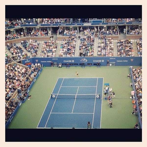 Photo taken at 2014 US Open Tennis Championships by Brian W. on 9/9/2012