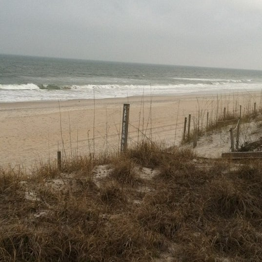 Photo taken at Carolina Beach by Heather S. on 3/2/2012
