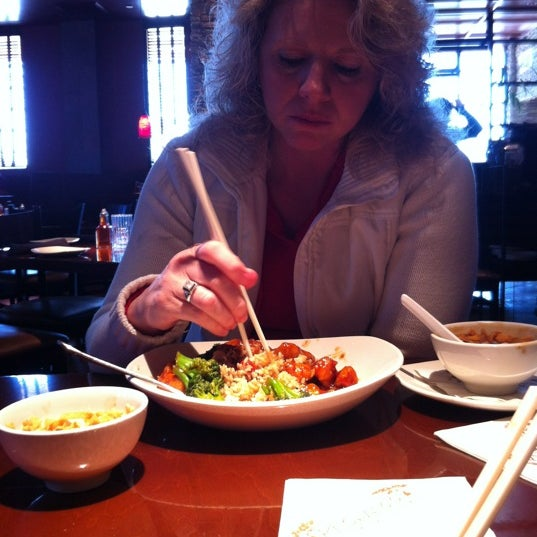 Photo taken at P.F. Chang's by Keith J. on 2/12/2012