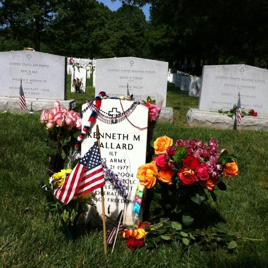 Photo taken at Arlington National Cemetery by Chad M. on 5/28/2012