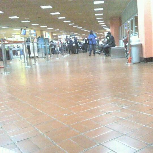 Photo taken at Jomo Kenyatta International Airport (NBO) by .db. on 5/5/2012