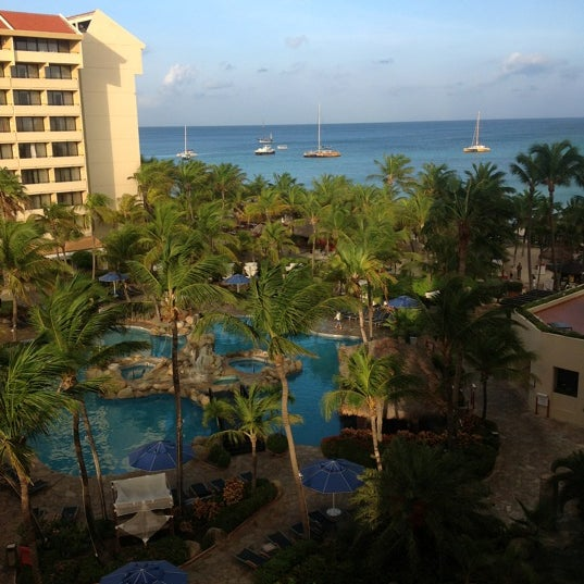 Photo taken at Occidental Grand Aruba by Omar H. on 8/30/2012