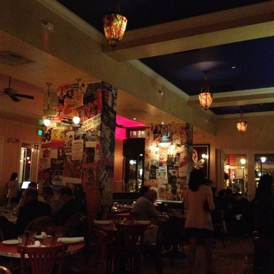 Photo taken at Left Bank Brasserie by Didier B. on 3/29/2012