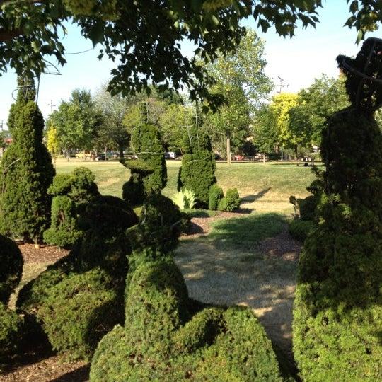 Topiary Park Downtown Columbus Columbus Oh
