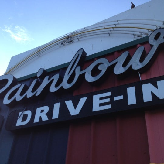 Photo taken at Rainbow Drive-in by Hyunha C. on 8/5/2012