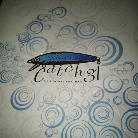 Photo taken at Catch 31 Fish House and Bar by Candace on 8/26/2012