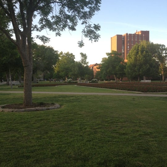 Photo taken at South Oval by Jay S. on 4/26/2012