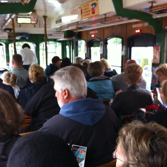 Photo taken at Old Town Trolley Tours of Boston by Stacy A. on 6/5/2012