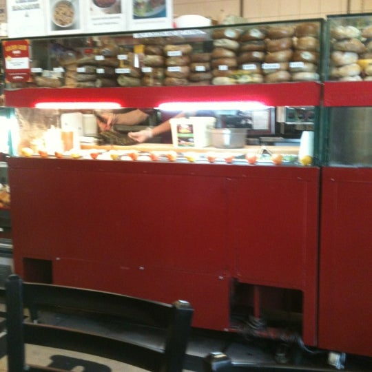 Photo taken at Famous Bagel Buffet by Alvin U. on 6/29/2012