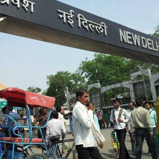 Photo taken at New Delhi Railway Station (NDLS) by 'Mustafa G. on 5/13/2012