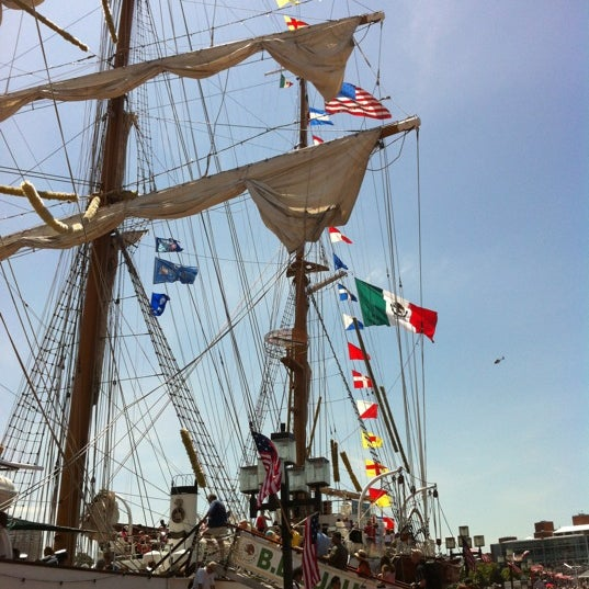 Photo taken at USS Constellation by Skip C. on 6/16/2012
