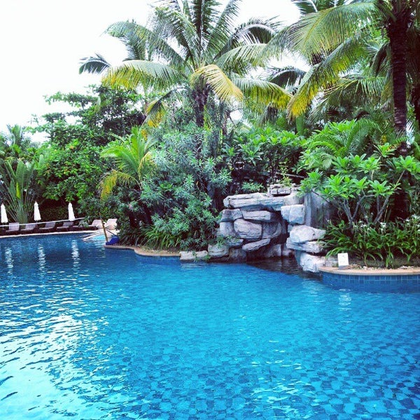 Photo taken at HowardJohnson Resort Sanya Bay by Matt S. on 7/7/2012
