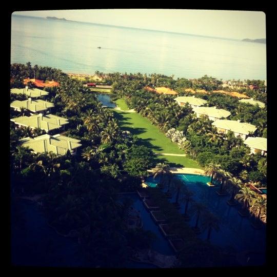 Photo taken at HowardJohnson Resort Sanya Bay by Olga P. on 9/12/2012