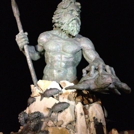 The King Neptune Statue - Oceanfront - Virginia Beach, VA