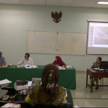 Photo taken at Kampus Tercinta IISIP Jakarta by Djony H. on 6/8/2012
