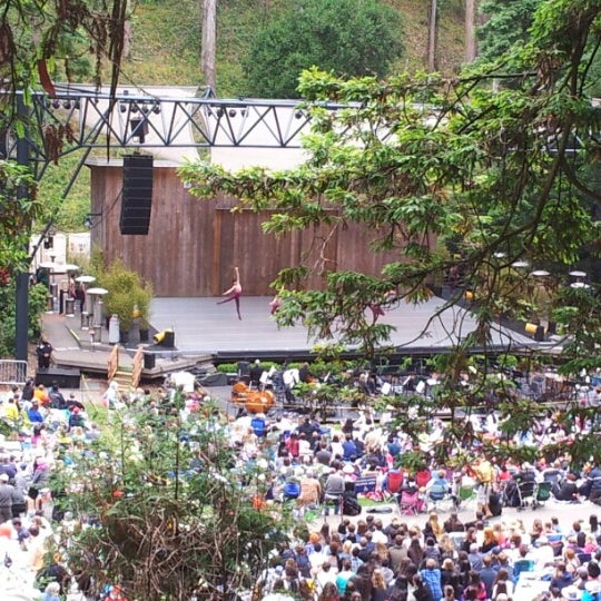 Photo taken at Sigmund Stern Grove by Jonathan S. on 7/30/2012