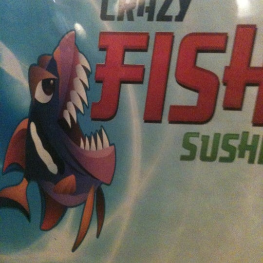 Crazy fish sushi now closed sushi restaurant in ocoee for Crazy fish restaurant