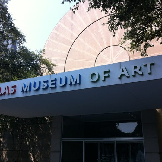 Photo taken at Dallas Museum of Art by Brian T. on 6/9/2012