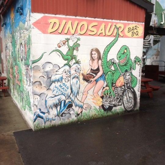 Photo taken at Dinosaur Bar-B-Que by Jim M. on 4/1/2012