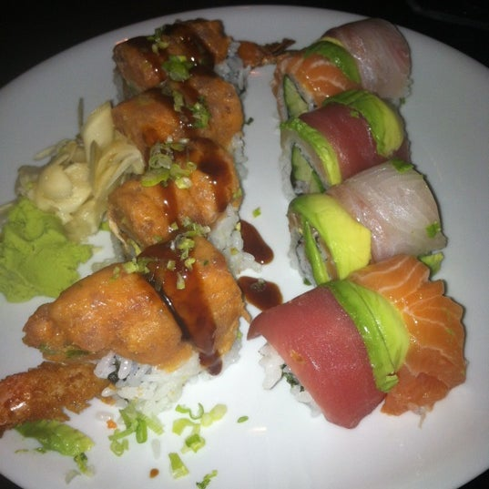 Photo taken at Blu Sushi by Amber P. on 6/9/2012