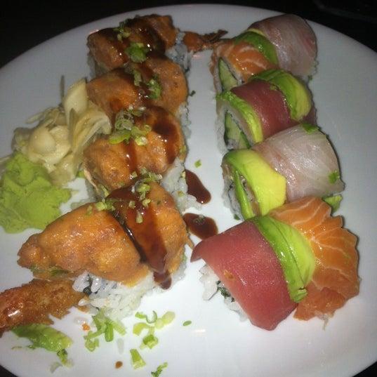 Photo taken at Blu Sushi by Amber P. on 6/9/2012