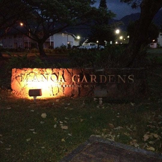 Photo taken at Manoa Gardens by Ethan E. on 6/5/2012