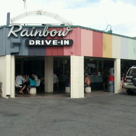 Photo taken at Rainbow Drive-in by VanTasstik on 7/16/2012