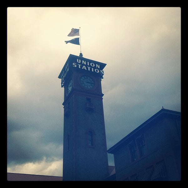 Photo taken at Union Station Amtrak (PDX) by Ryan L. on 7/22/2012
