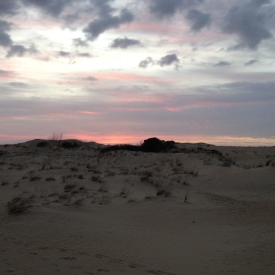 Photo taken at Jockey's Ridge State Park by Trey W. on 3/8/2012