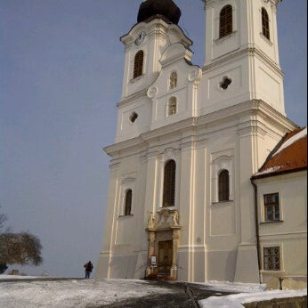 Photo taken at Tihanyi Apátság by miles on 2/5/2012