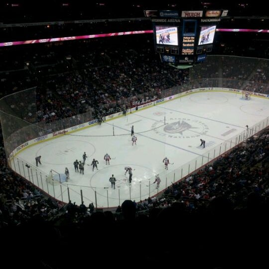 Photo taken at Nationwide Arena by David W. on 3/29/2012