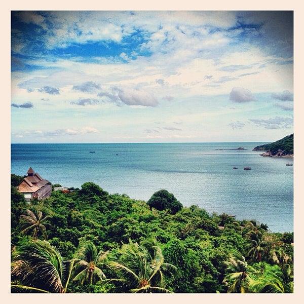 Photo taken at Santhiya Resort And Spa Koh Phangan by Miracle J. on 5/12/2012