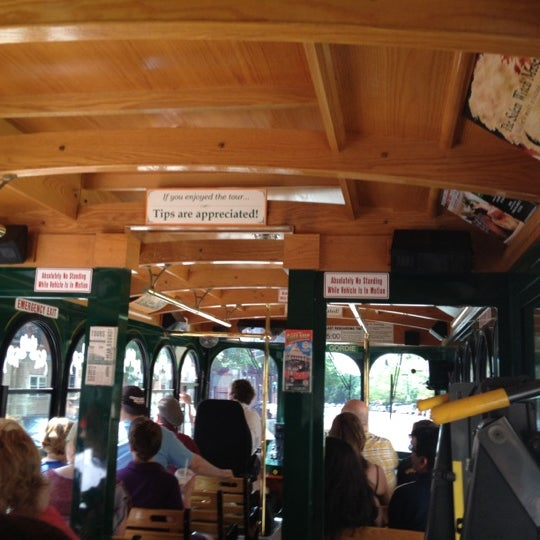 Photo taken at Old Town Trolley Tour by Denise S. on 5/31/2012