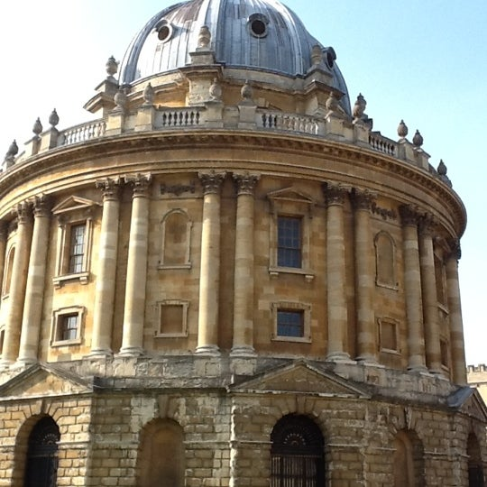 Photo taken at Radcliffe Camera by Dmitry I. on 3/24/2012
