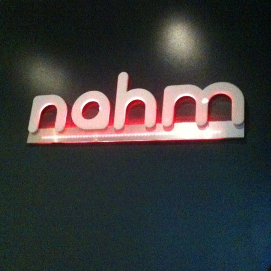 Photo taken at Nahm Thai Kitchen by Brite E. on 4/11/2012