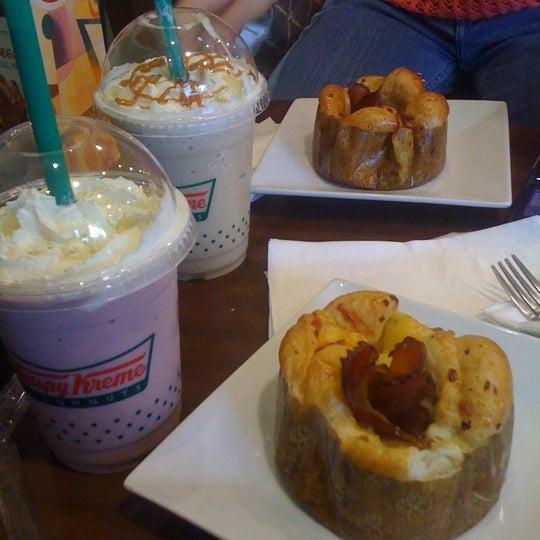 Photo taken at Krispy Kreme by Contessa P. on 4/19/2012