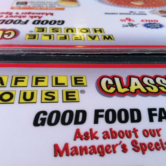 Photo taken at Waffle House by Lance O. on 7/31/2012
